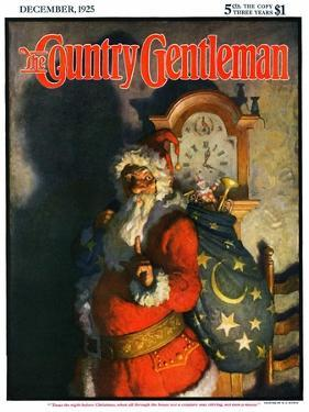 """""""'Twas the Night before Christmas,"""" Country Gentleman Cover, December 1, 1925 by Andrew Wyeth"""