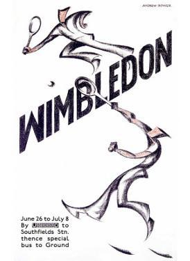 Wimbledon Tennis by Andrews & Power