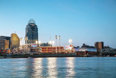 Great American Ballpark Stadium in Cincinnati, Ohio by andreykr