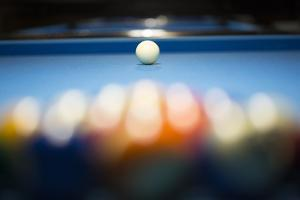 Billiard Game by Andria Patino