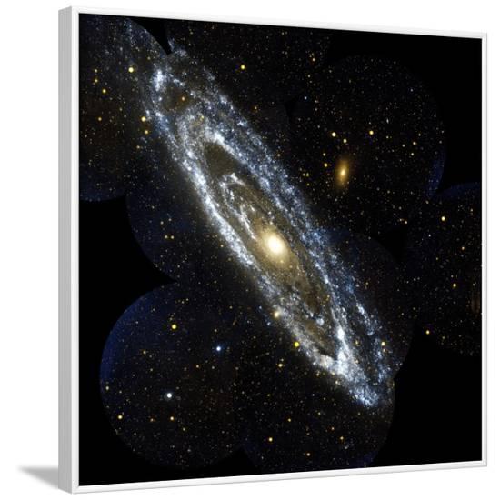 Andromeda Galaxy, UV Image--Framed Photographic Print