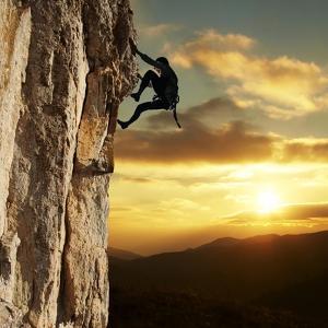 Rock Climber by Andrushko Galyna