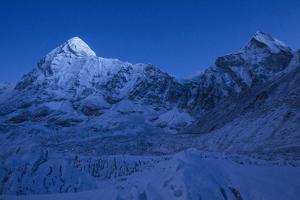 Hiking into the Khumbu Icefall at Night by Andy Bardon