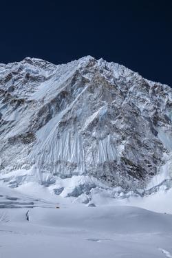 The Khumbu Icefall at the Head of the Khumbu Glacier by Andy Bardon