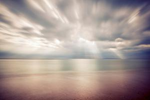 Hengistbury Head Rays I by Andy Bell