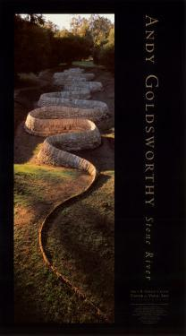 Stone River by Andy Goldsworthy