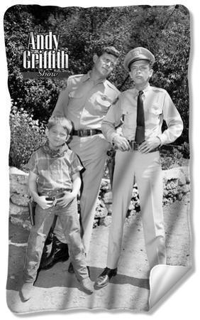 Andy Griffith - Lawmen Fleece Blanket