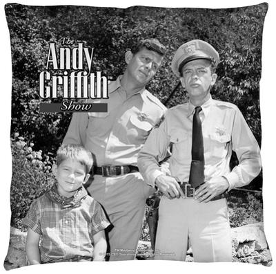 Andy Griffith - Lawmen Throw Pillow