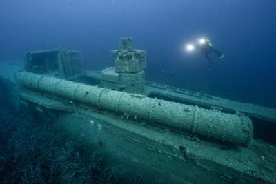 Exploring a World War Ii Shipwreck in the Ionian Sea by Andy Mann