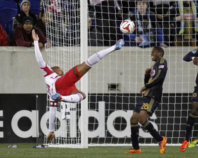 Apr 16, 2014 - MLS: Philadelphia Union vs New York Red Bulls - Thierry Henry by Andy Marlin