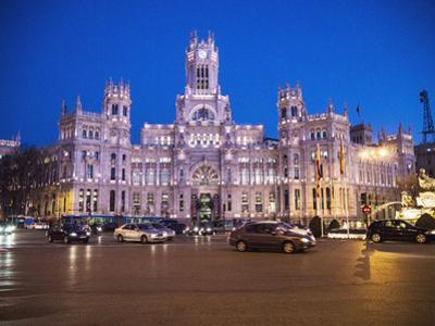 Palacio De Cibeles, Madrid, Spain