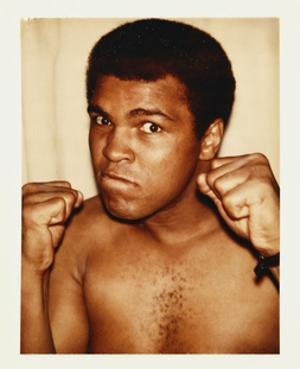 Ali, Muhammad, 1977 by Andy Warhol
