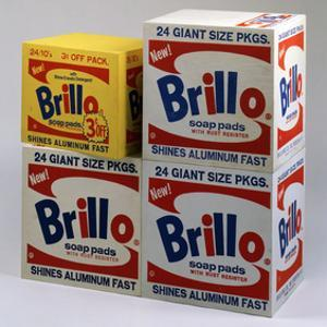Brillo Boxes, 1963-1964 by Andy Warhol