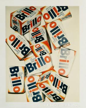 Brillo Boxes, 1979 by Andy Warhol