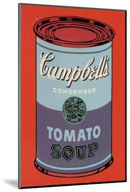 Campbells Soup Can 1965 Blue And Purple By Andy Warhol