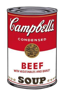 Campbell's Soup I: Beef, 1968 by Andy Warhol