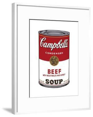 Campbell's Soup I: Beef, c.1968 by Andy Warhol
