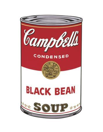Campbell's Soup I: Black Bean, 1968