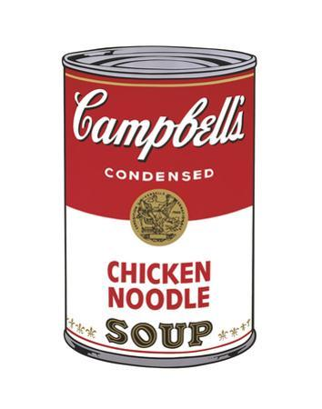 Campbell's Soup I: Chicken Noodle, 1968