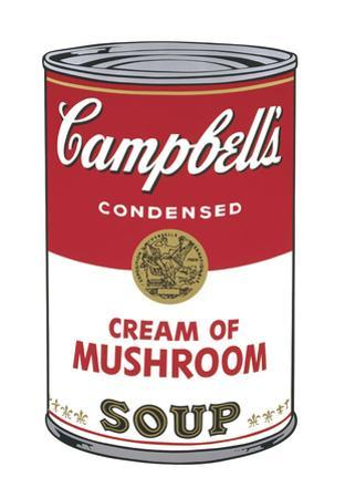 Campbell's Soup I: Cream of Mushroom, 1968
