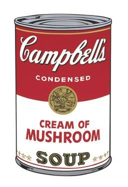 Campbell's Soup I: Cream of Mushroom, 1968 by Andy Warhol