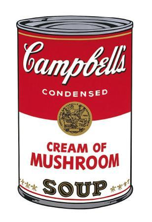 Campbell's Soup I: Cream of Mushroom, c.1968