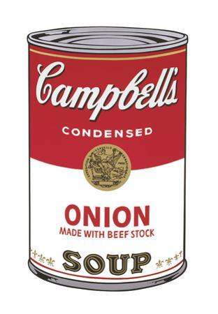 Campbell's Soup I: Onion, 1968
