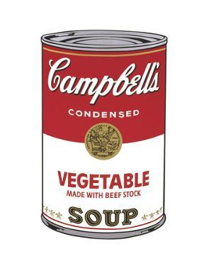 Campbell's Soup I: Vegetable, 1968 by Andy Warhol