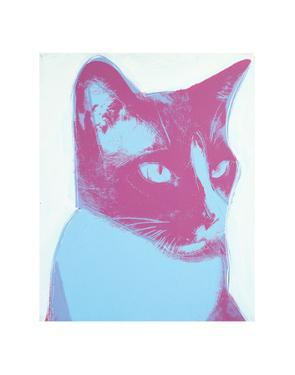 Cat, 1976 by Andy Warhol