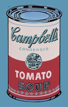 Colored Campbell's Soup Can, 1965 (pink & red) by Andy Warhol