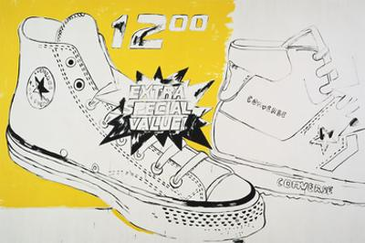 Converse Extra Special Value, c. 1985-86 by Andy Warhol