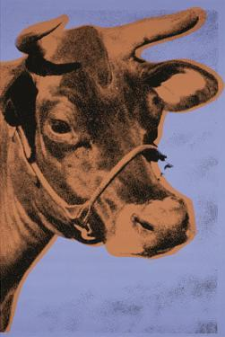 Cow, c.1971 (Purple and Orange) by Andy Warhol