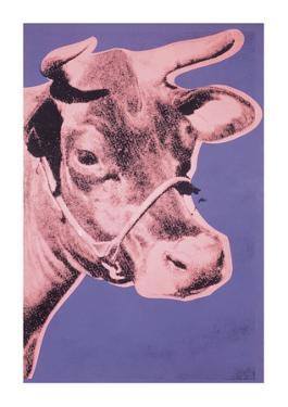 Cow, c.1976 (pink and purple) by Andy Warhol