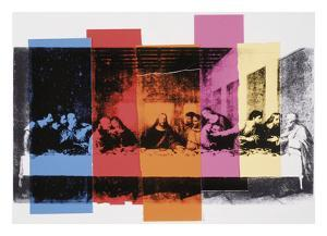 Detail of The Last Supper, 1986 by Andy Warhol