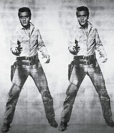 Elvis, c.1963 (double Elvis) by Andy Warhol