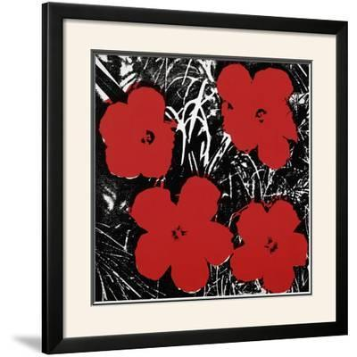 Flowers, c.1964 (Red)