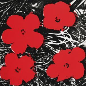 Flowers, c.1964 (Red) by Andy Warhol