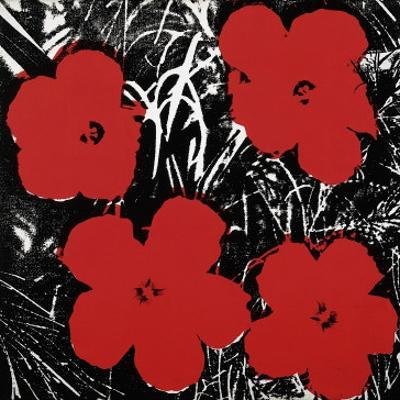 Flowers (Red), c.1964 by Andy Warhol