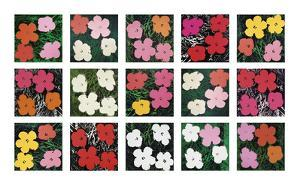 Flowers (various), 1964 - 1970 by Andy Warhol