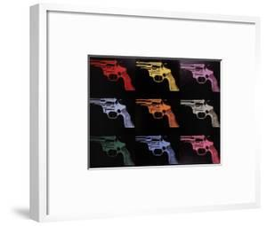 Gun, c.1982 (many/rainbow) by Andy Warhol