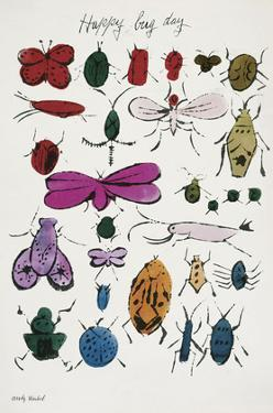 Happy Bug Day, 1954 by Andy Warhol