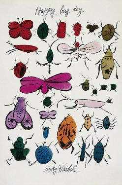 Happy Bug Day, c.1954 by Andy Warhol