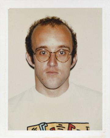 Haring, Keith, 1986 by Andy Warhol