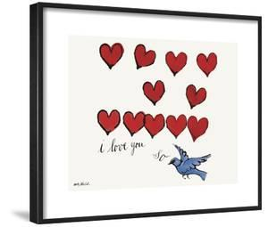 I Love You So, c. 1958 by Andy Warhol