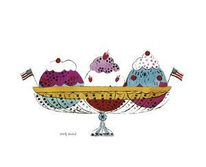 Ice Cream Dessert, c.1959 (Three Scoops) by Andy Warhol
