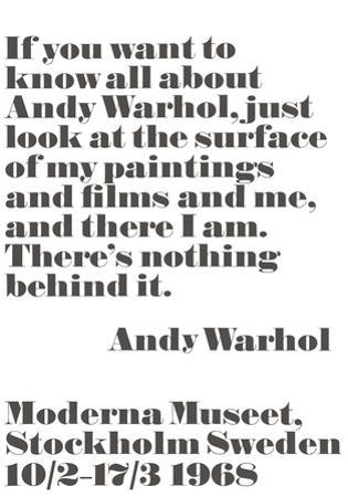 If you want to know all about Andy Warhol... by Andy Warhol/ John Melin