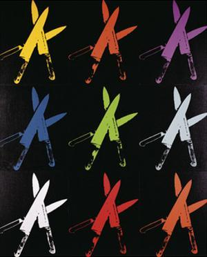 Knives, 1981-82 (multi) by Andy Warhol