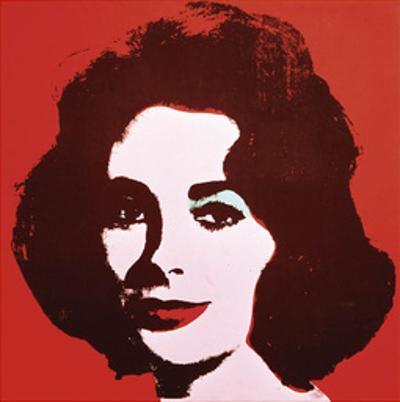 Liz, 1963 (Red) by Andy Warhol