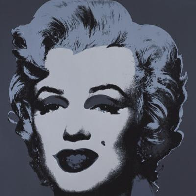 Marilyn Monroe, 1967 (black) by Andy Warhol