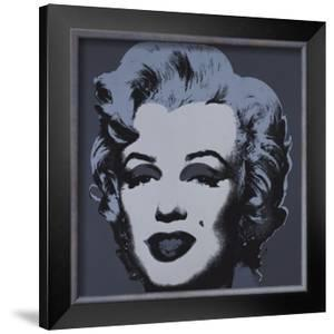 Marilyn Monroe, 1967 (black) by Andy Warhol